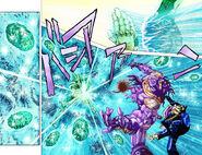Gemstone Manipulation by Kakyoin's Hierophant Green 2