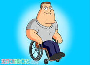 Joe swanson of family guy by sketchheroes-d3128a6