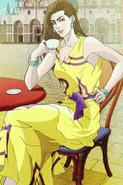 Lisa Lisa (Anime) JoJo's Bizarre Adventure