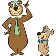 Yogi Bear and Boo Boo Bear