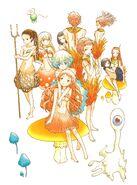 Mushroom Folk (Kinoko Ningen no Kekkon)