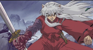 Sō'unga merged with InuYasha