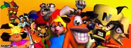 Crash Bandicoot Cast