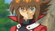Yuki Judai Yubel eyes