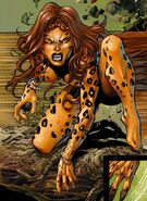 Cheetah DC Comics feral