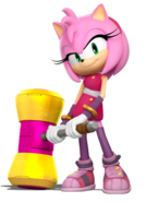 Amy Rose Sonic Boom