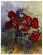 Optimus Prime First Gen (1980s)