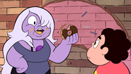Amethyst Eating