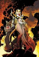 Illyana Rasputina Magic (Marvel Comics) new mutants forever 4