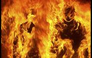 SCP-457 - Burning Man