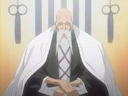 Shigekuni Yamamoto Genryusai (Bleach) seated