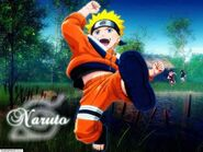 JUMPING NARUTO Wallpaper k4c1t