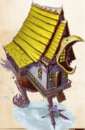 Dancing Hut of Baba Yaga
