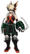 Katsuki Bakugou My Hero Academia Superhero Costume