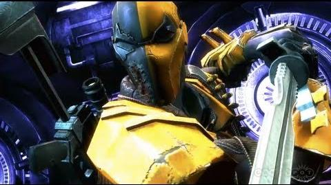 Deathstroke - Injustice Gods Among Us Trailer