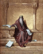 King-solomon-drawing-by-gustave-dore-gustave-dore
