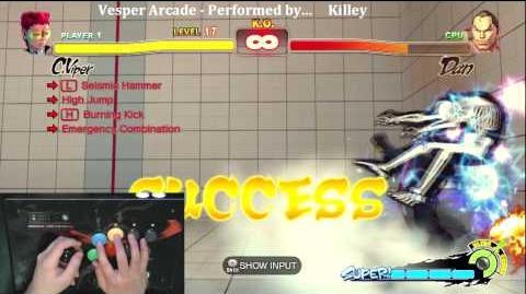 Super Street Fighter 4 Trials - C.Viper