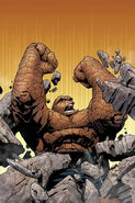 Benjamin Grimm (Earth-616) from Fantastic Four Vol 4 1 cover