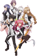 Rakudai Kishi no Cavalry key visual