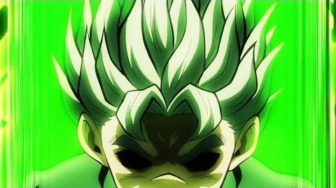 ジョジョ Koichi, A Super Saiyan Green 『HD』