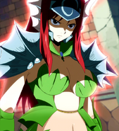Erza Scarlet (Fairy Tail) aura