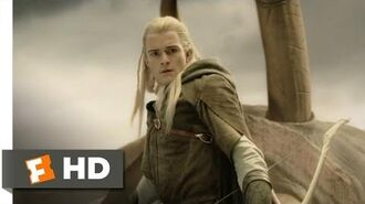 Legolas Slays the Oliphaunt (6 9) - The Lord of the Rings The Return of the King Movie (2003) - HD