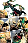 Drakon vs. Connor Hawke DC Comics