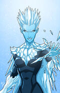 Caitlin Snow Killer Frost (DC Comics) shards