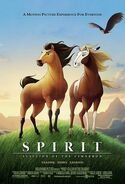 Spirit Stallion of the Cimarron poster