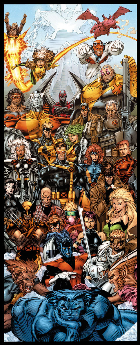 X-Men Forever - Door Poster.jpg & Image - X-Men Forever - Door Poster.jpg | Superpower Wiki | FANDOM ...