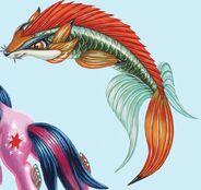 Under the Sparking Sea fox fins