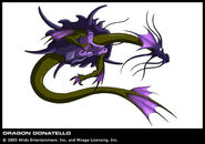 Donie as Dragon