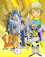 Takeru Patamon (Digimon Series)
