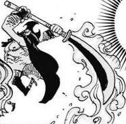 Oven Flamming Naginata