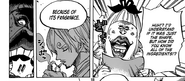 Sanji sharp sense of smell