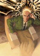 Charles Xavier Professor X (Marvel Comics) attack