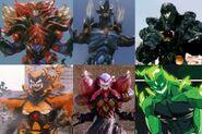 Pyscho Rangers' Monster Form
