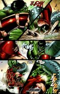 Strength Combat by Hulk and Juggernaut 2