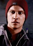 Delsin Rowe close up
