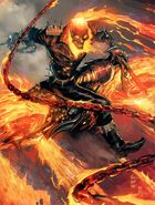 John Blaze Ghost Rider (Marvel Comics) (Earth-1610) 001