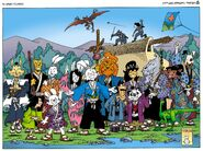 Cast (Usagi Yojimbo)