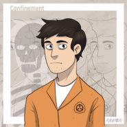 Connor, the normal SCP from Confinement