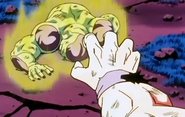 Frieza Defeated!! - Goku gives Frieza 2