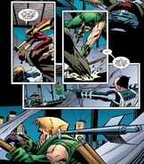 Green Arrow's Speedy Reflexes (1)
