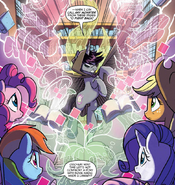 My Little Pony Friendship is Magic Shadow Lock Literature Materialization