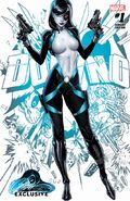 Neena Thurman Domino (Marvel Comics) Domino Vol 3 1 JSC Exclusive Variant A