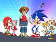 Sonic X wallpaper
