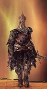 Burnt Ivory King