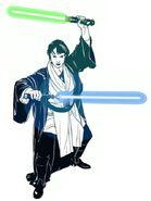Jar'Kai or Niman Star Wars