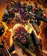 Project Purgatory Soldiers Marvel Comics